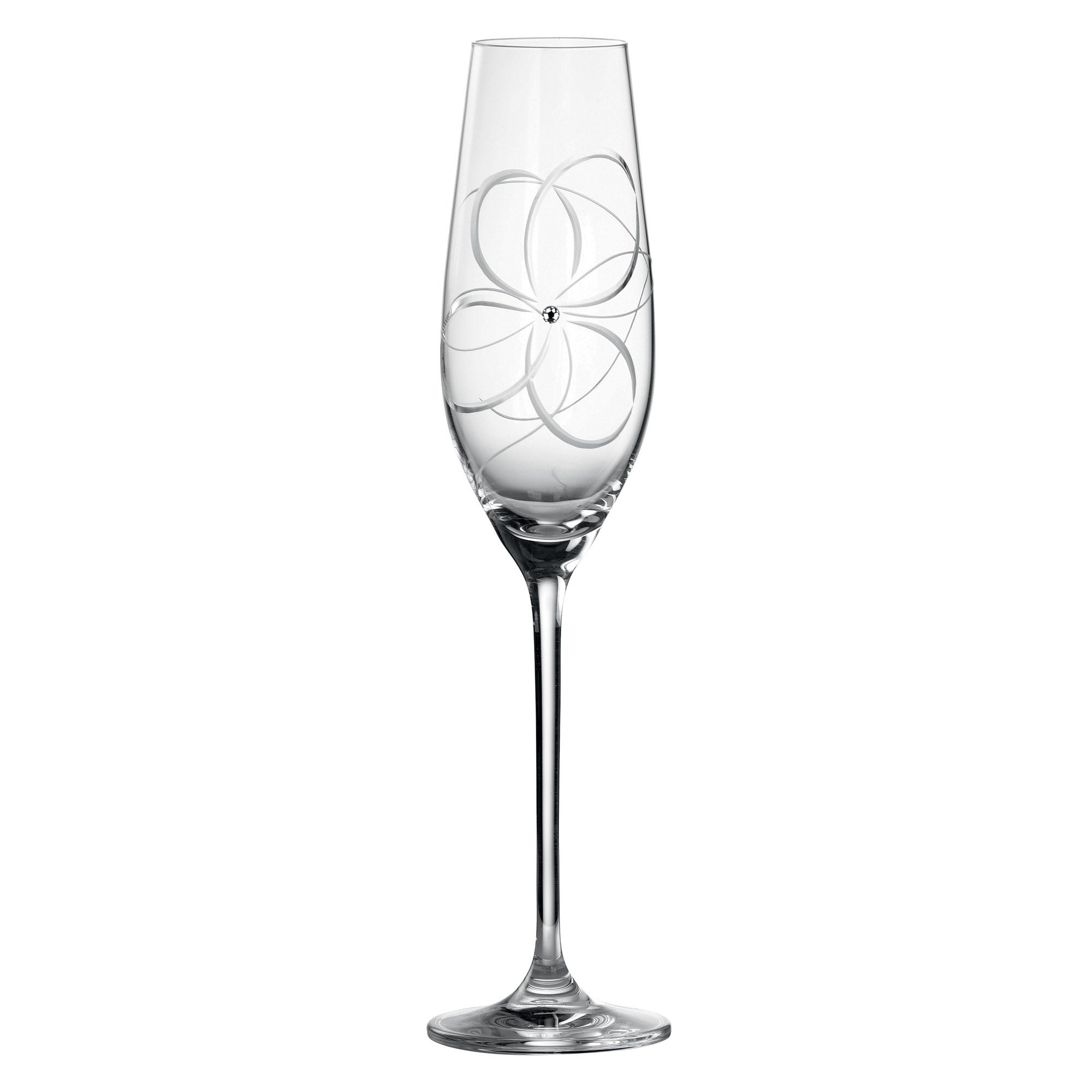 Royal Doulton Promises Many Happy Returns Pair of Toasting Flutes