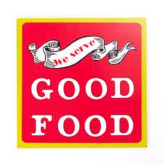 Orchard Collection Good Food Wall Plaque