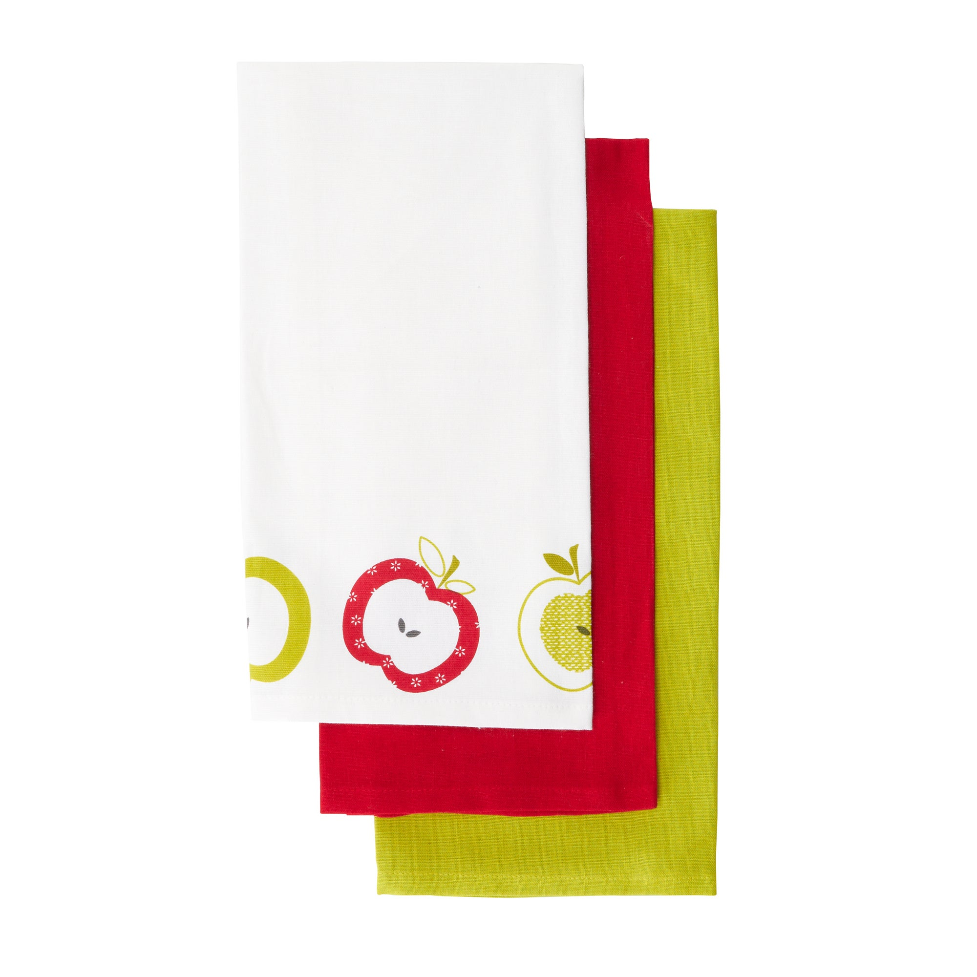 Pack of 3 Orchard Tea Towels