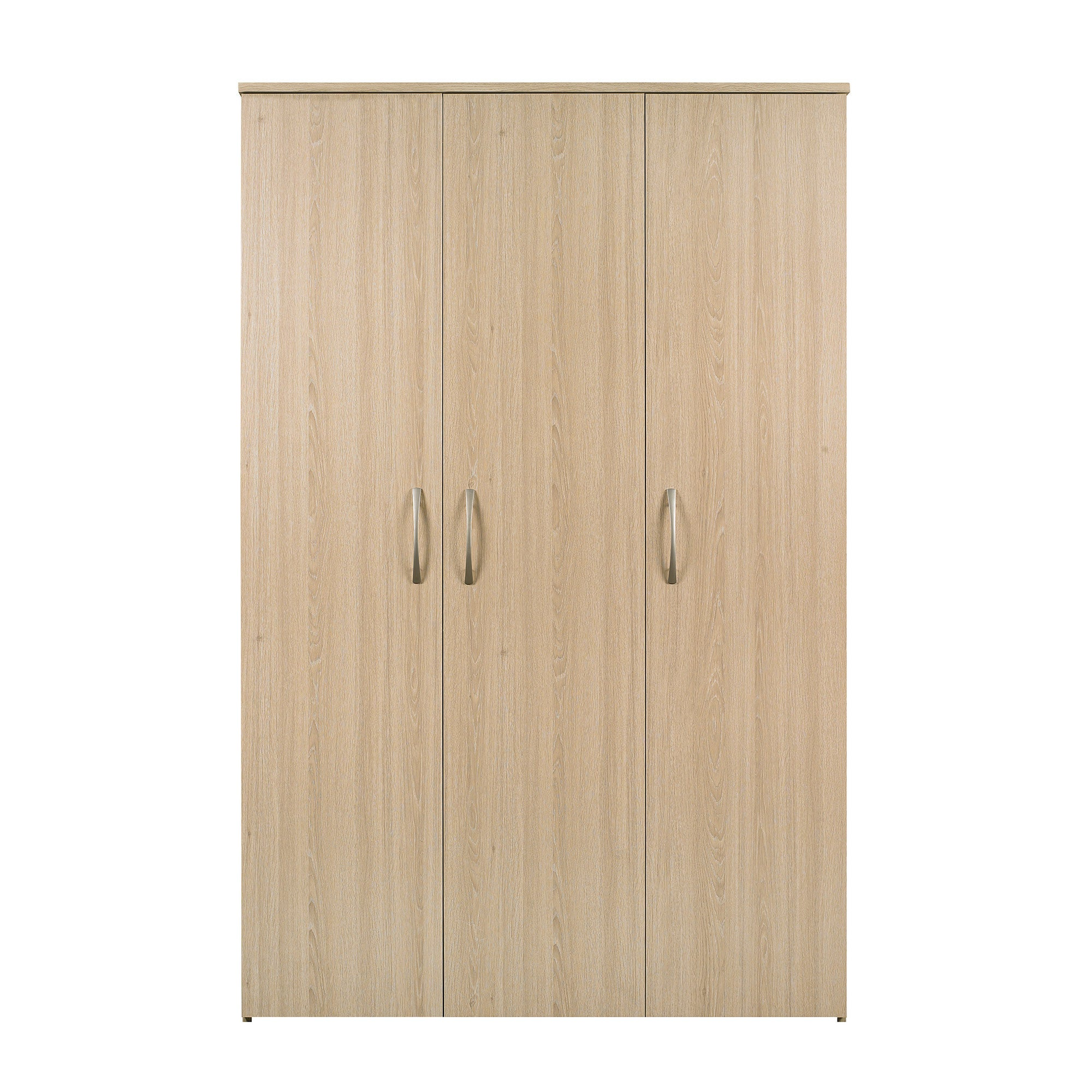 Boston Oak Triple Wardrobe