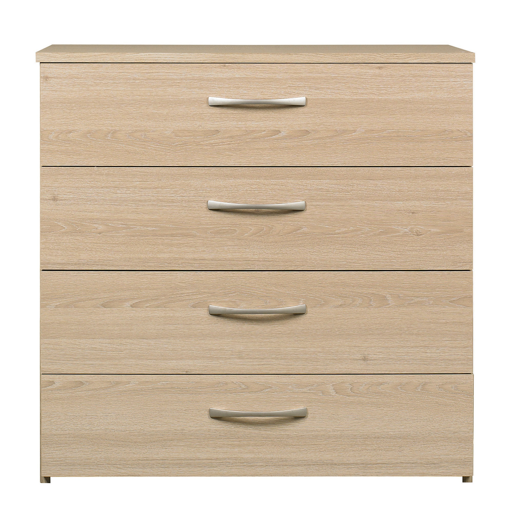 Boston Oak 4 Drawer Chest