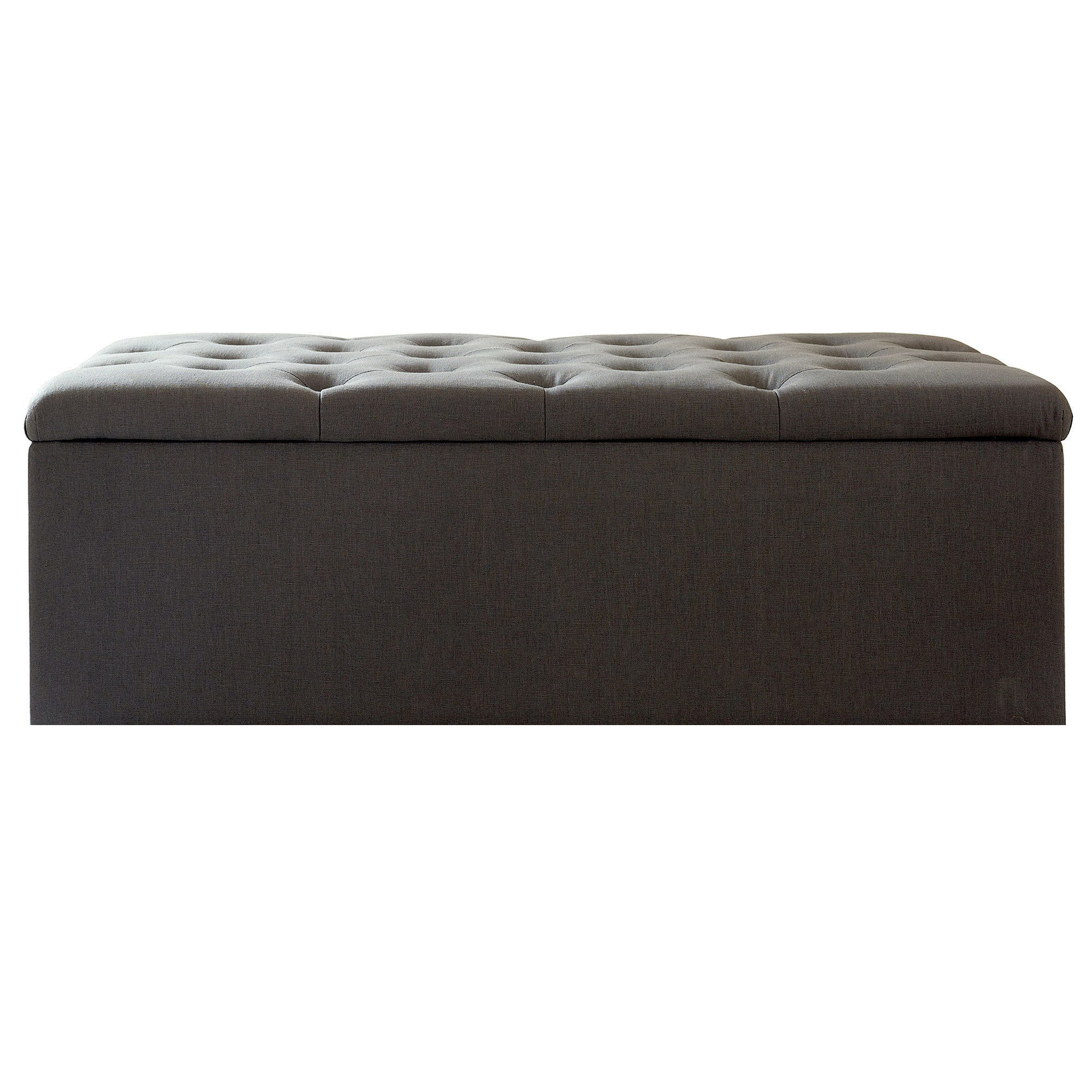Antoinette Charcoal Bed Ottoman