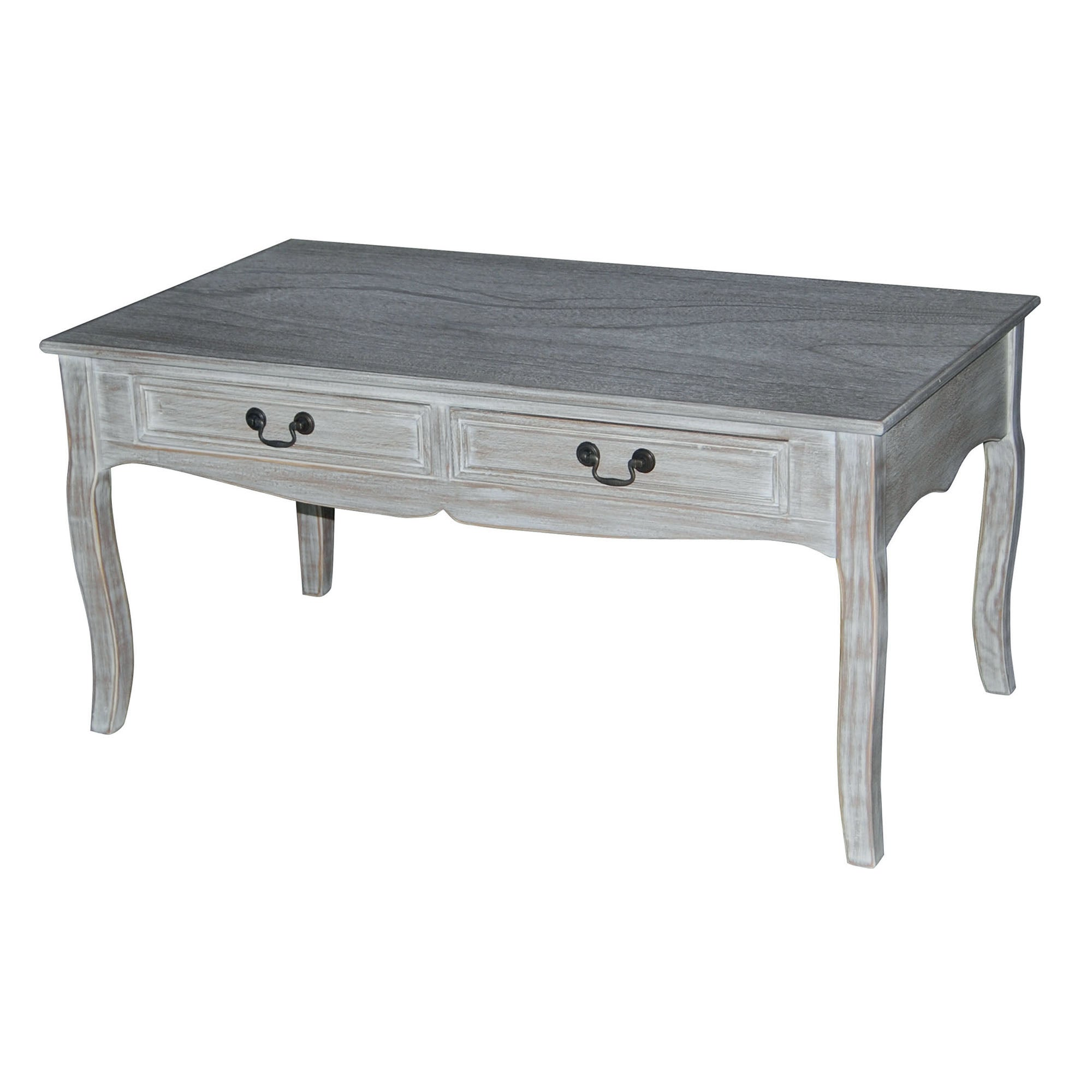 Bordeaux Washed Wood Coffee Table