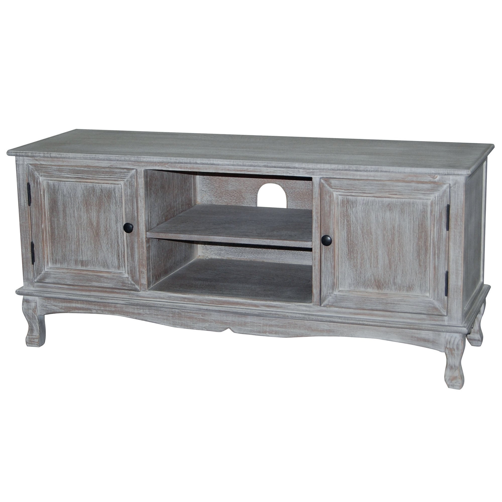 Bordeaux Washed Wood TV Unit