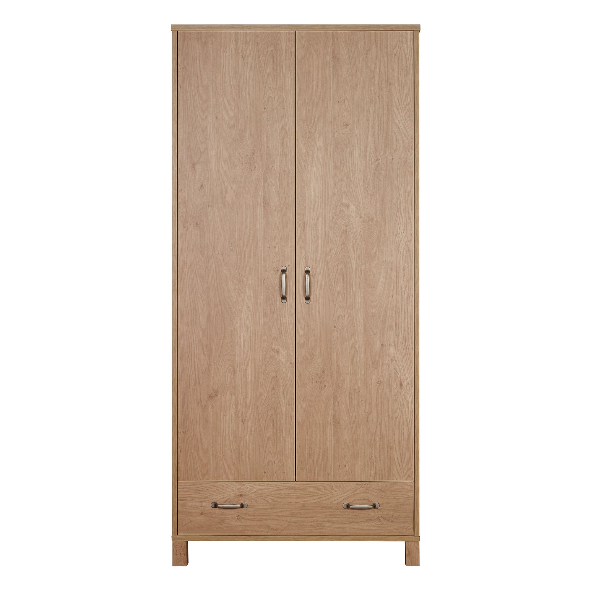 Perth Oak Wardrobe with Drawer