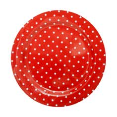 Orchard Red Spot Collection Dinner Plate