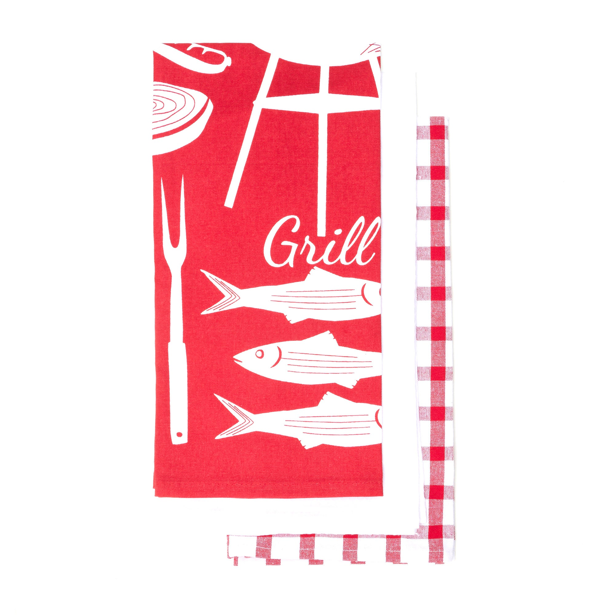 Set of 3 BBQ Tea Towels