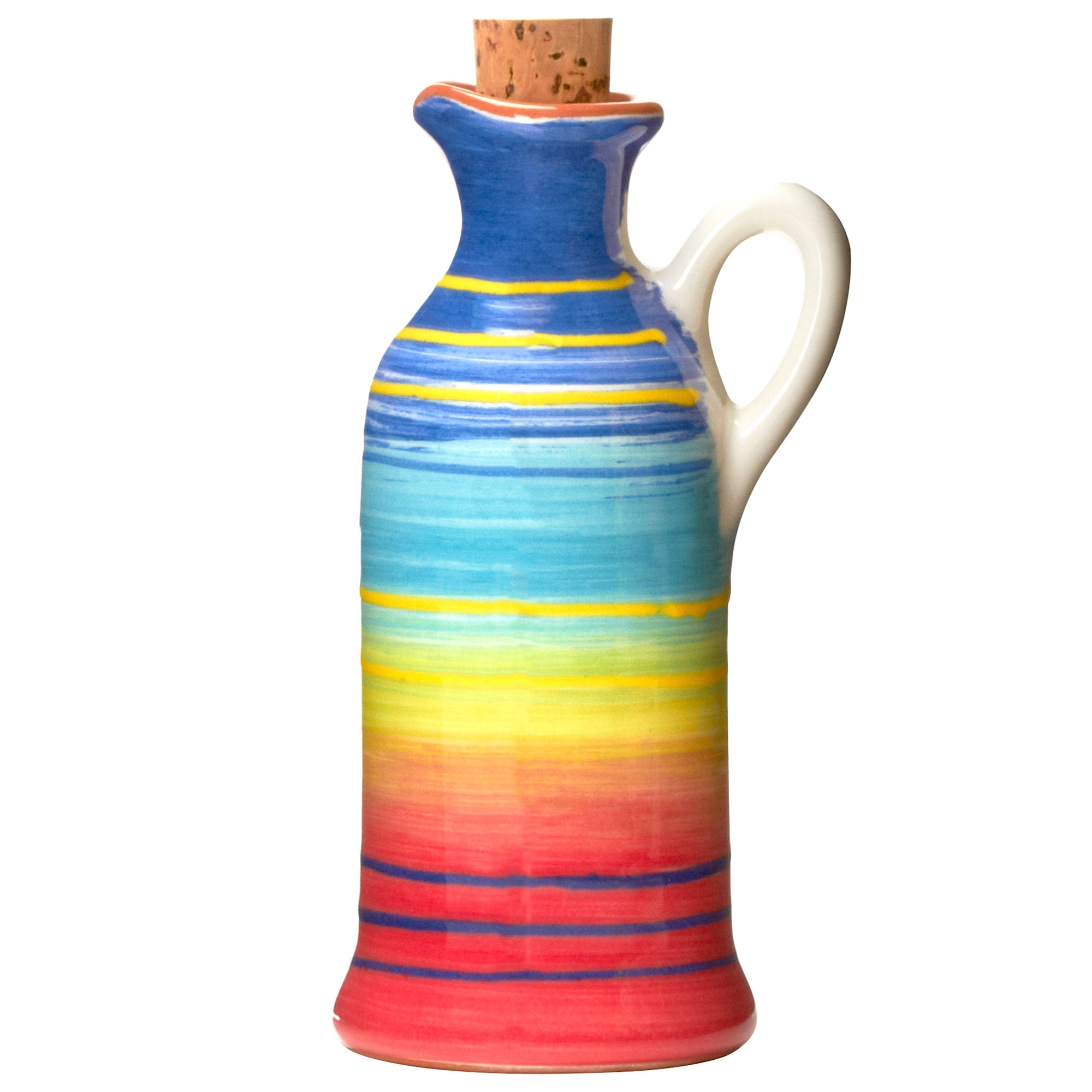 Mediterranean Rainbow Oil Bottle