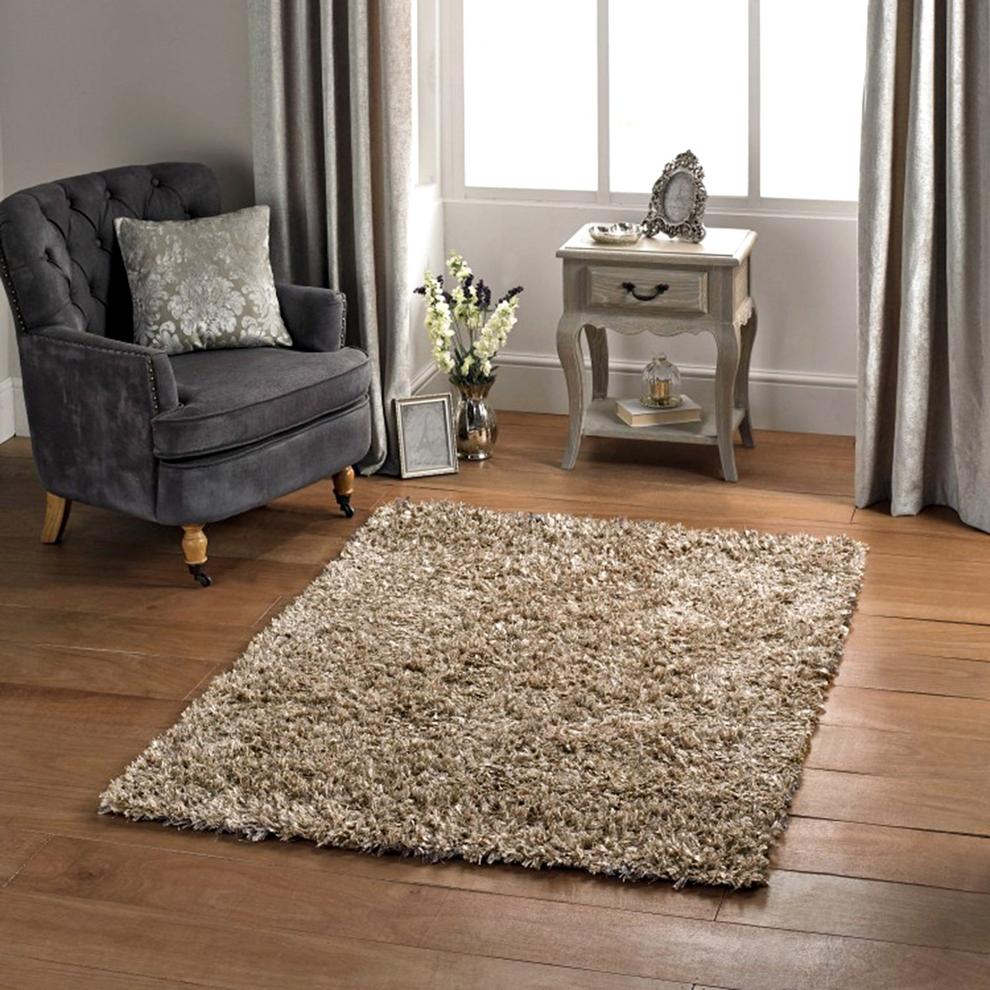 Mixed Ribbons Rug Dunelm