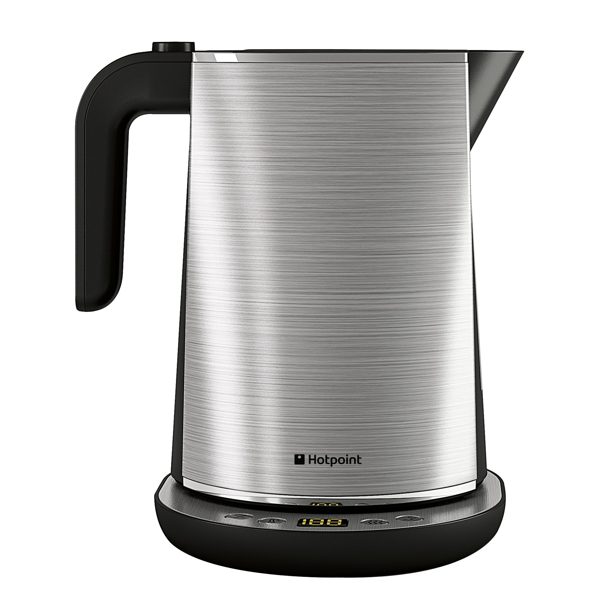Hotpoint WK30MAXO Electronic Stainless Steel Silver Digital Kettle