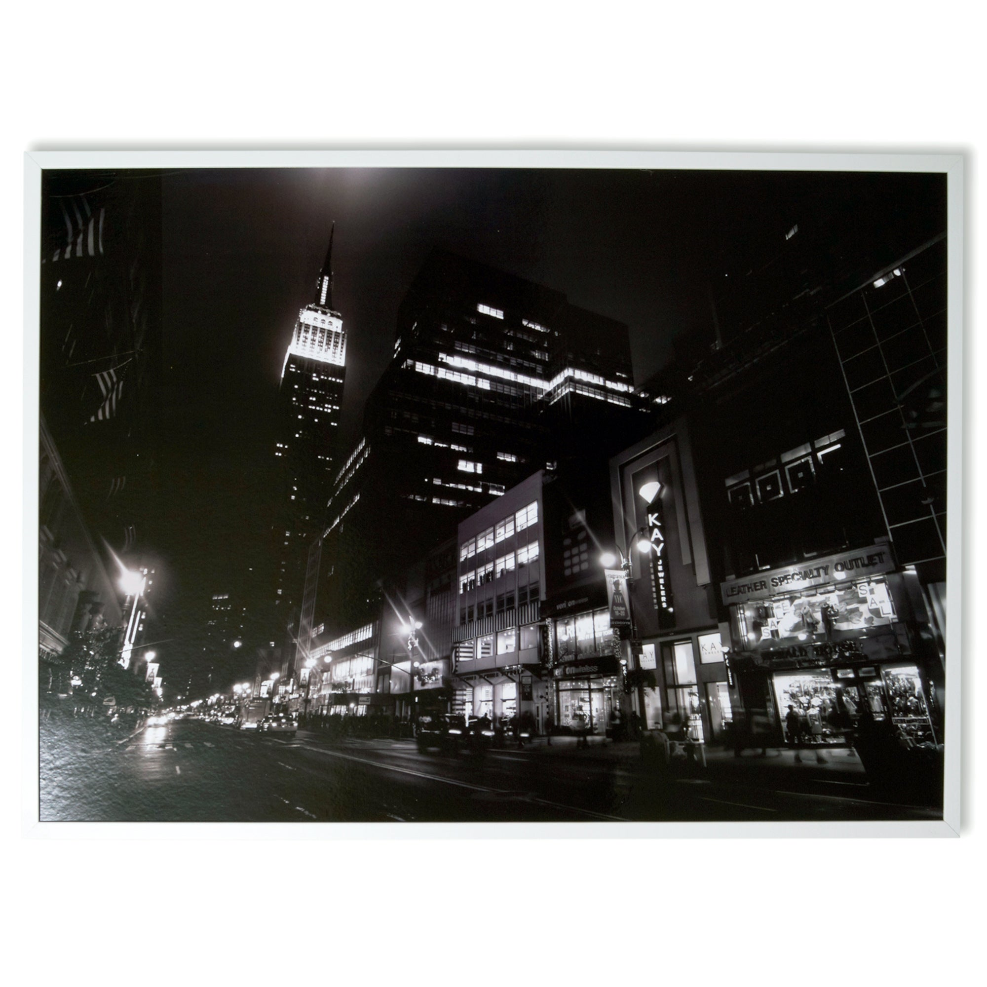 City At Night Framed Print