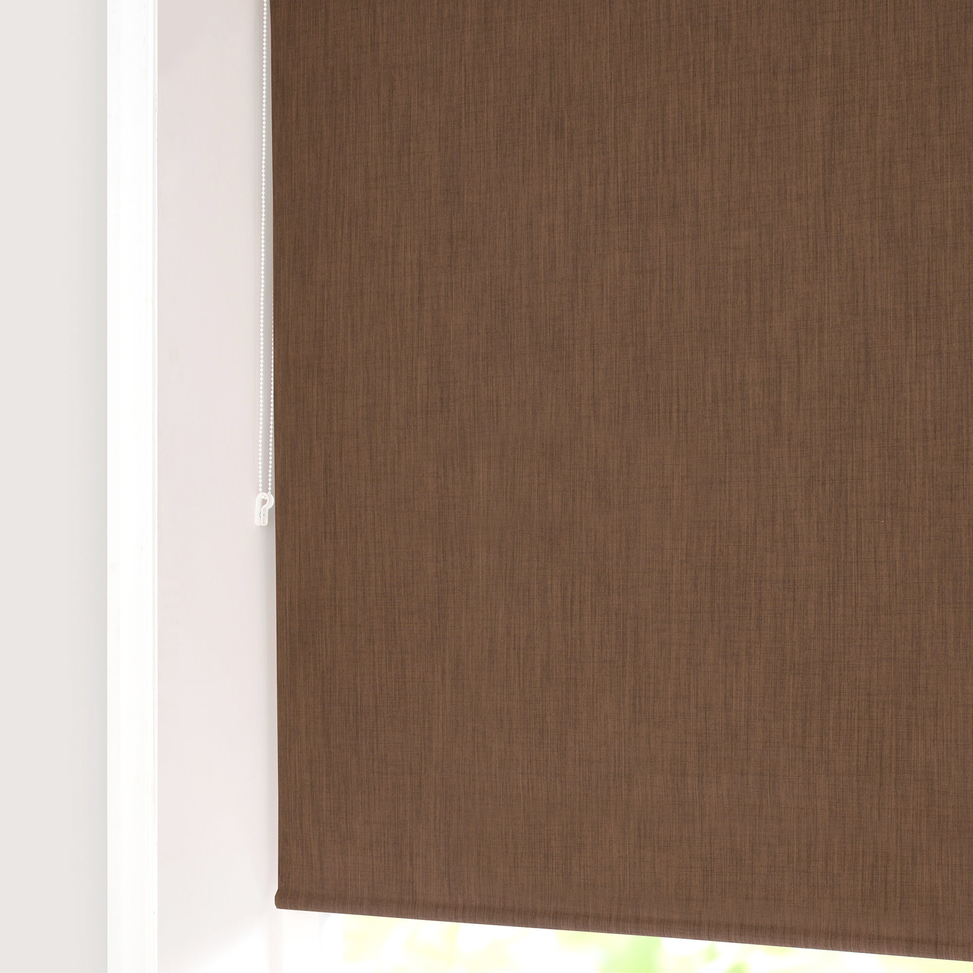Chocolate Solar Blackout Roller Blind