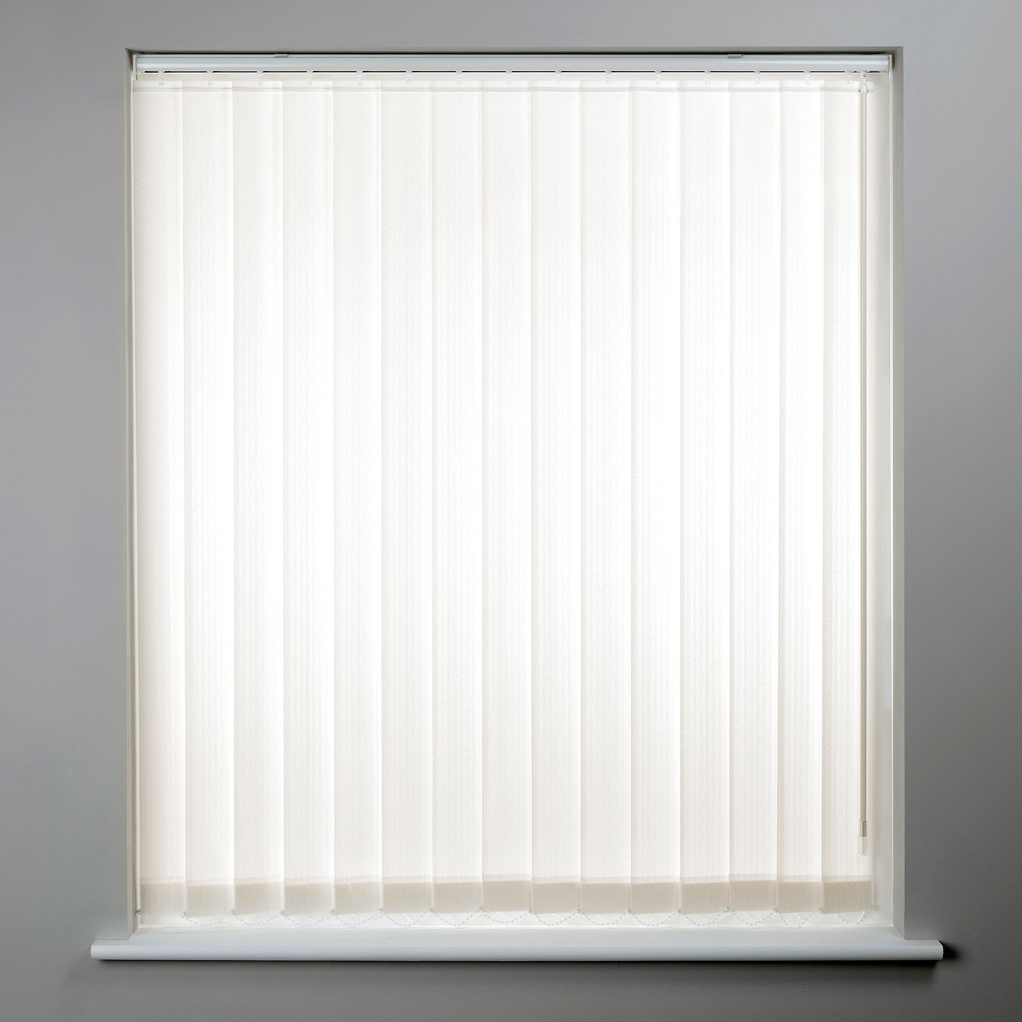 Cream Cordless Vertical Blind