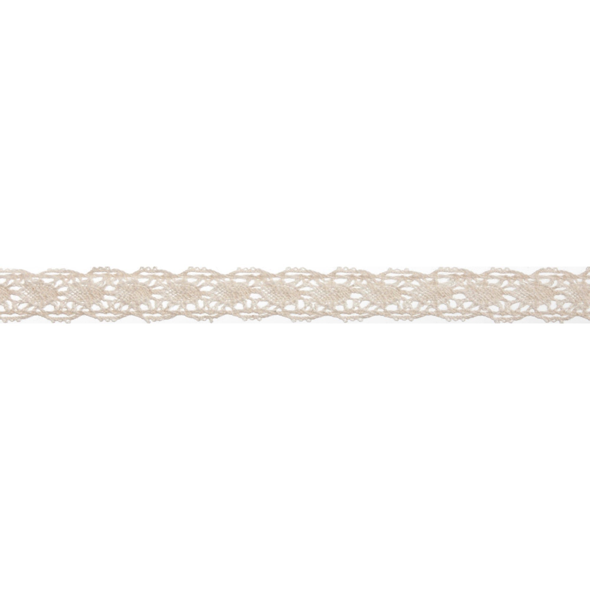 Bowtique Cream Scalloped Lace Ribbon
