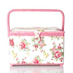Floral Sewing and Craft Box