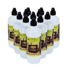 La Hacienda Pack of 12 1 Litre Bottles of Bio-ethanol Liquid Fuel