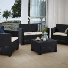Milan 4 Seater Garden Conversation Furniture