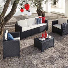 Milan 5 Seater Garden Conversation Furniture