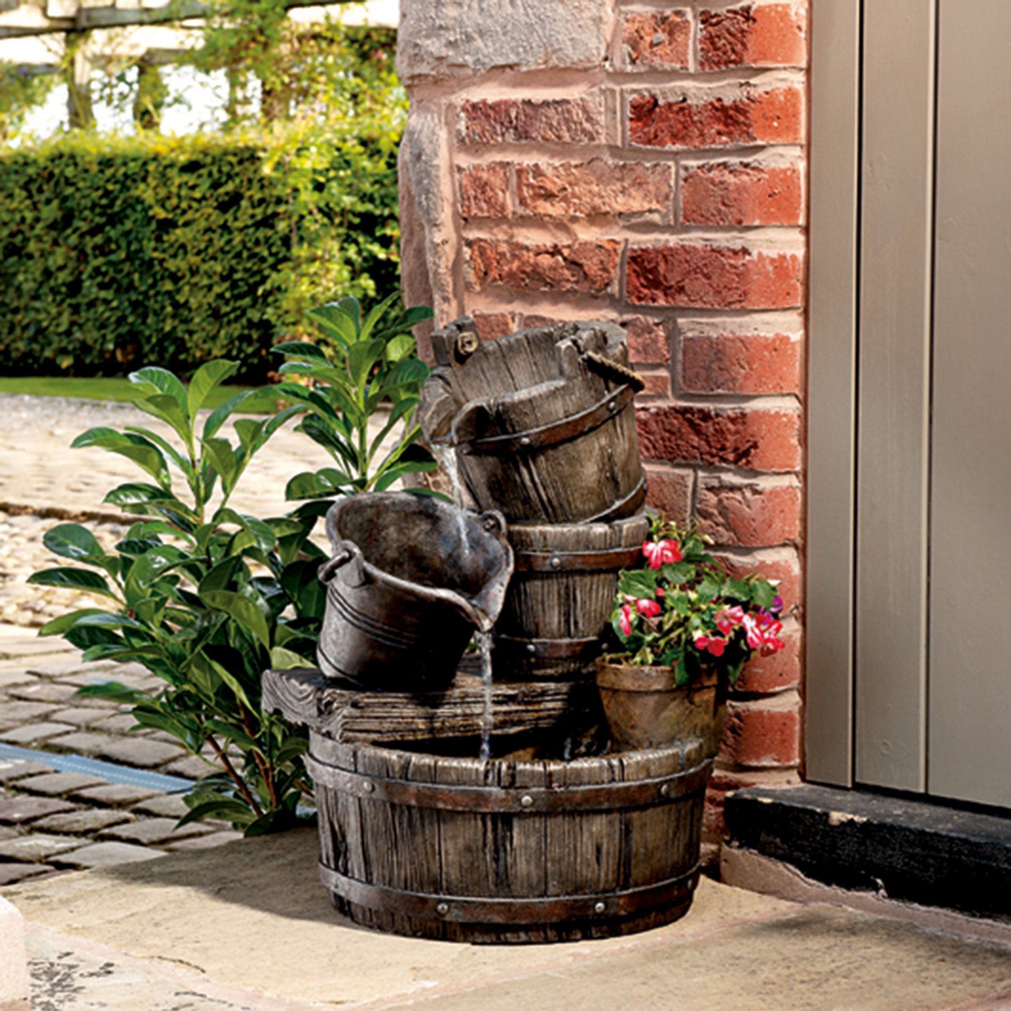 Barrel Water Feature Shop For Cheap Hand Tools And Save