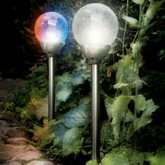 Solar Ice Orb Border Light