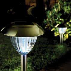 Set of 2 Solar Ultra Bright Border Lights