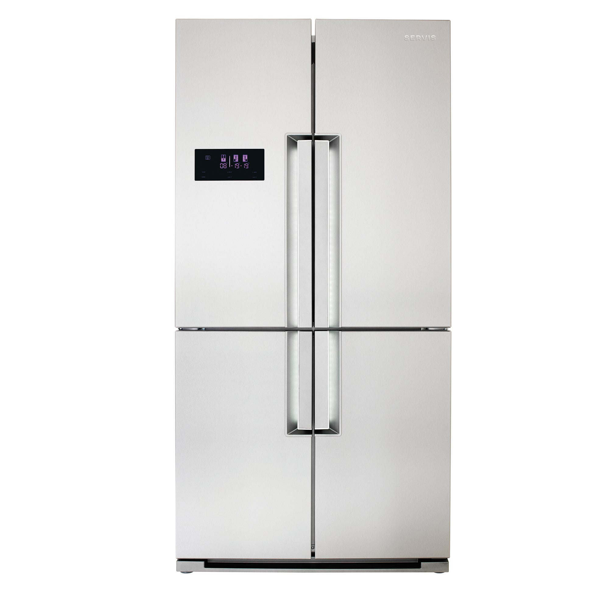 Servis FD91185SS 4 Door American Style Fridge Freezer Stainless Steel