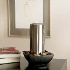 Steel Column Water Feature