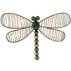 Green Dragonfly Wall Art