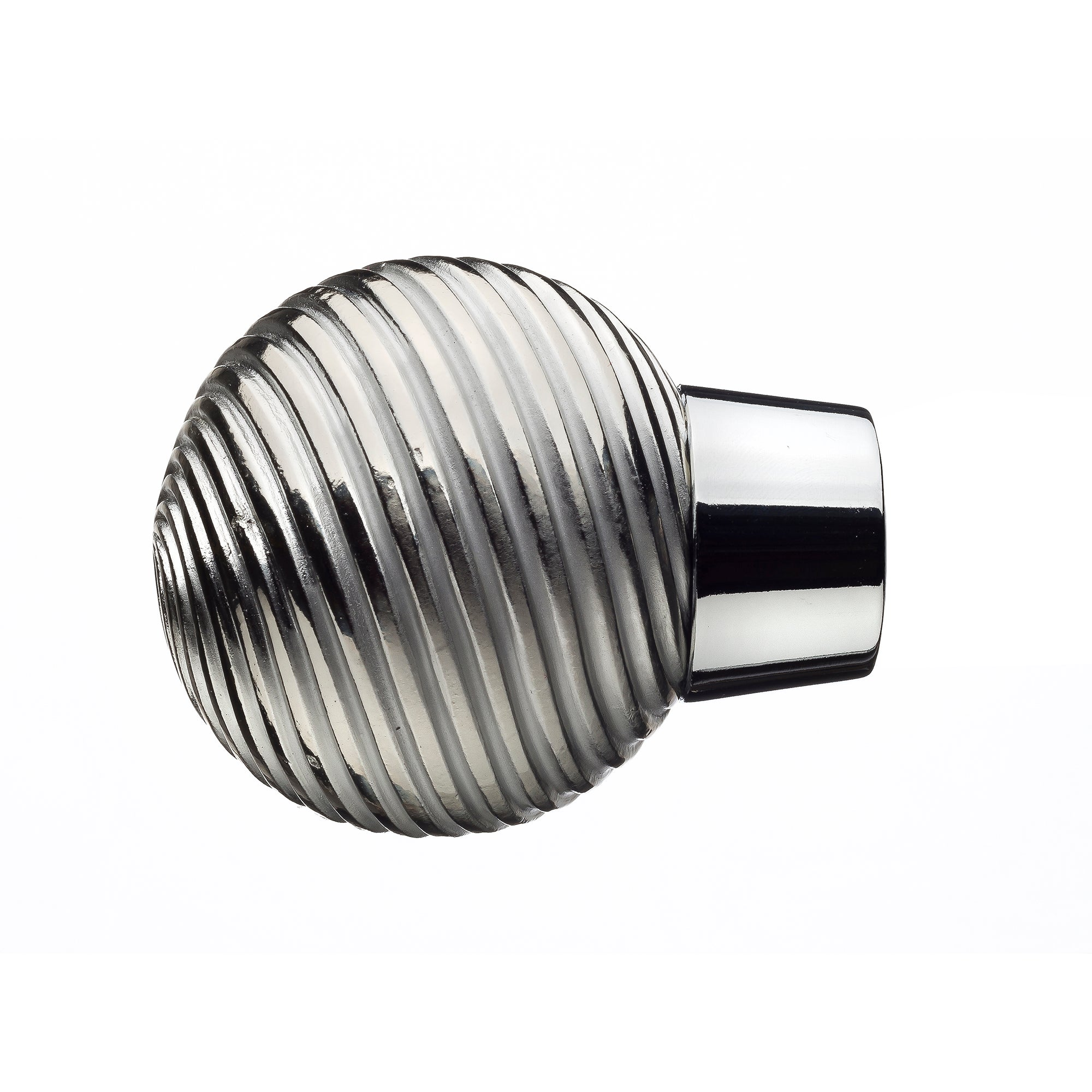Mix and Match Collection Chrome Wave Ball Finials