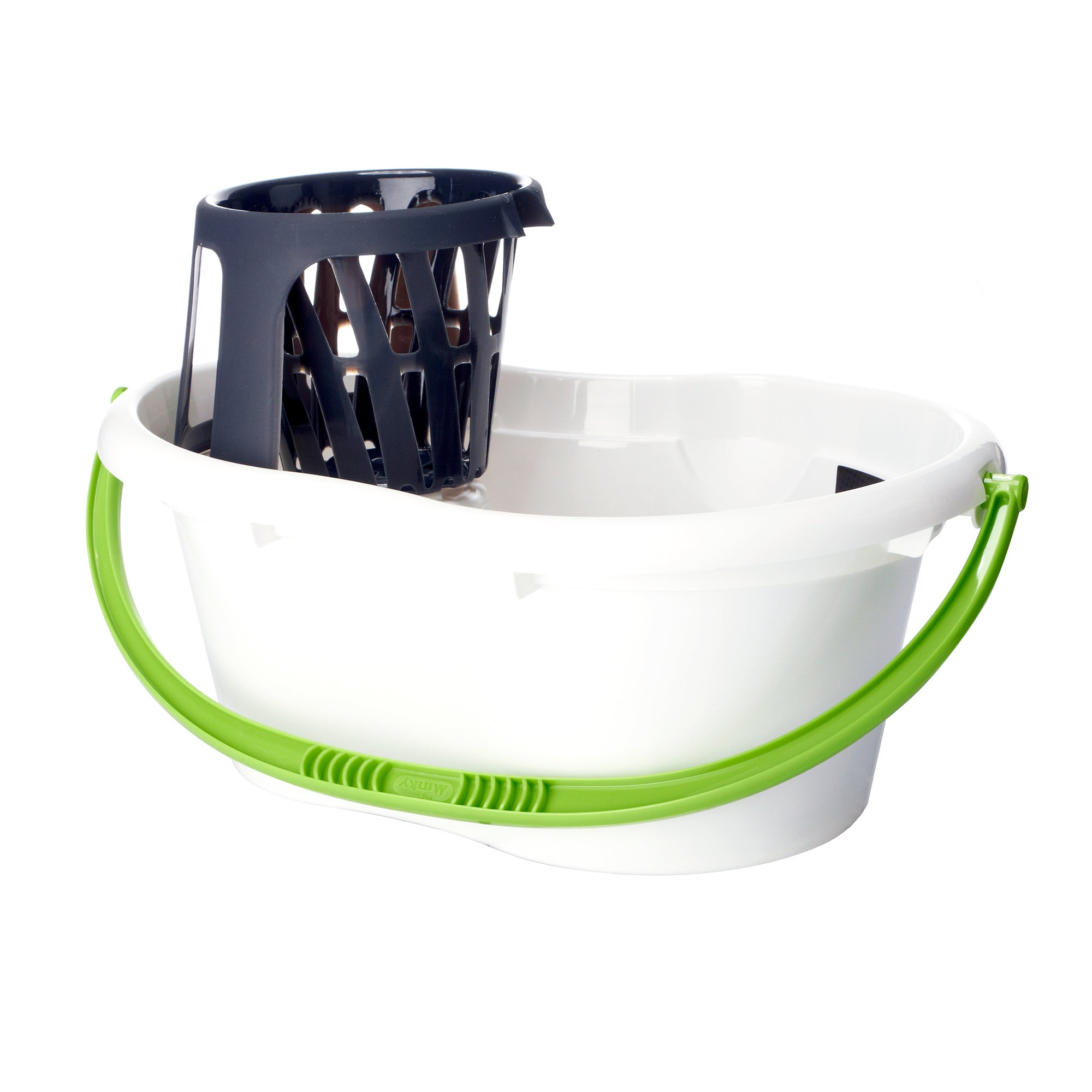 Minky White Stackable Bucket