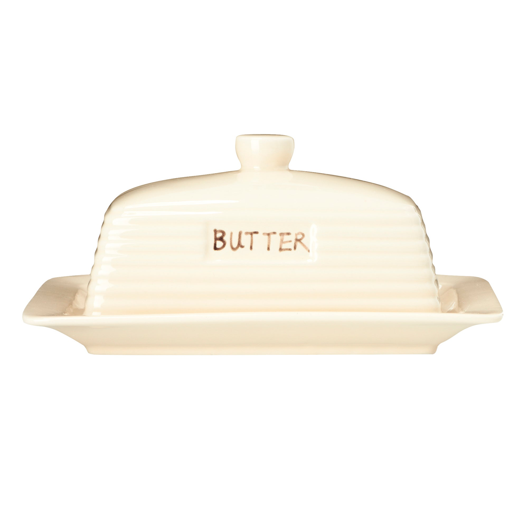 Como Collection Butter Dish