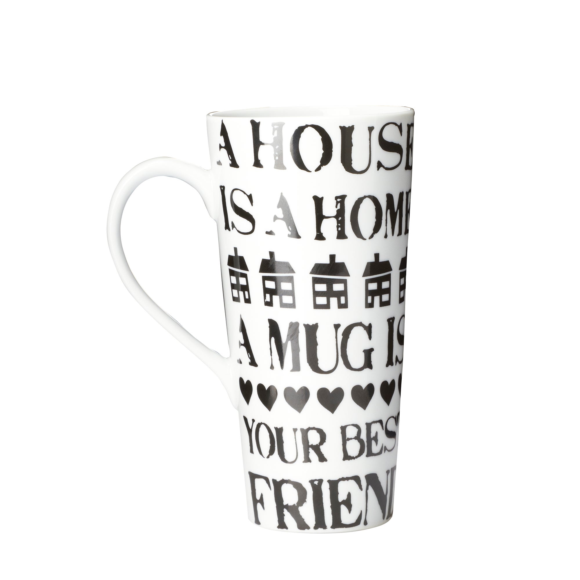 House and Home Latte Mugs