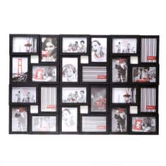 Black Collage Multi Picture Frame