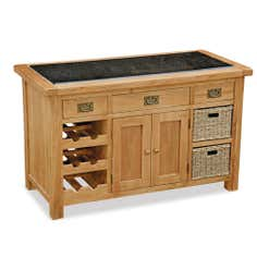 Aylesbury Oak Kitchen Island