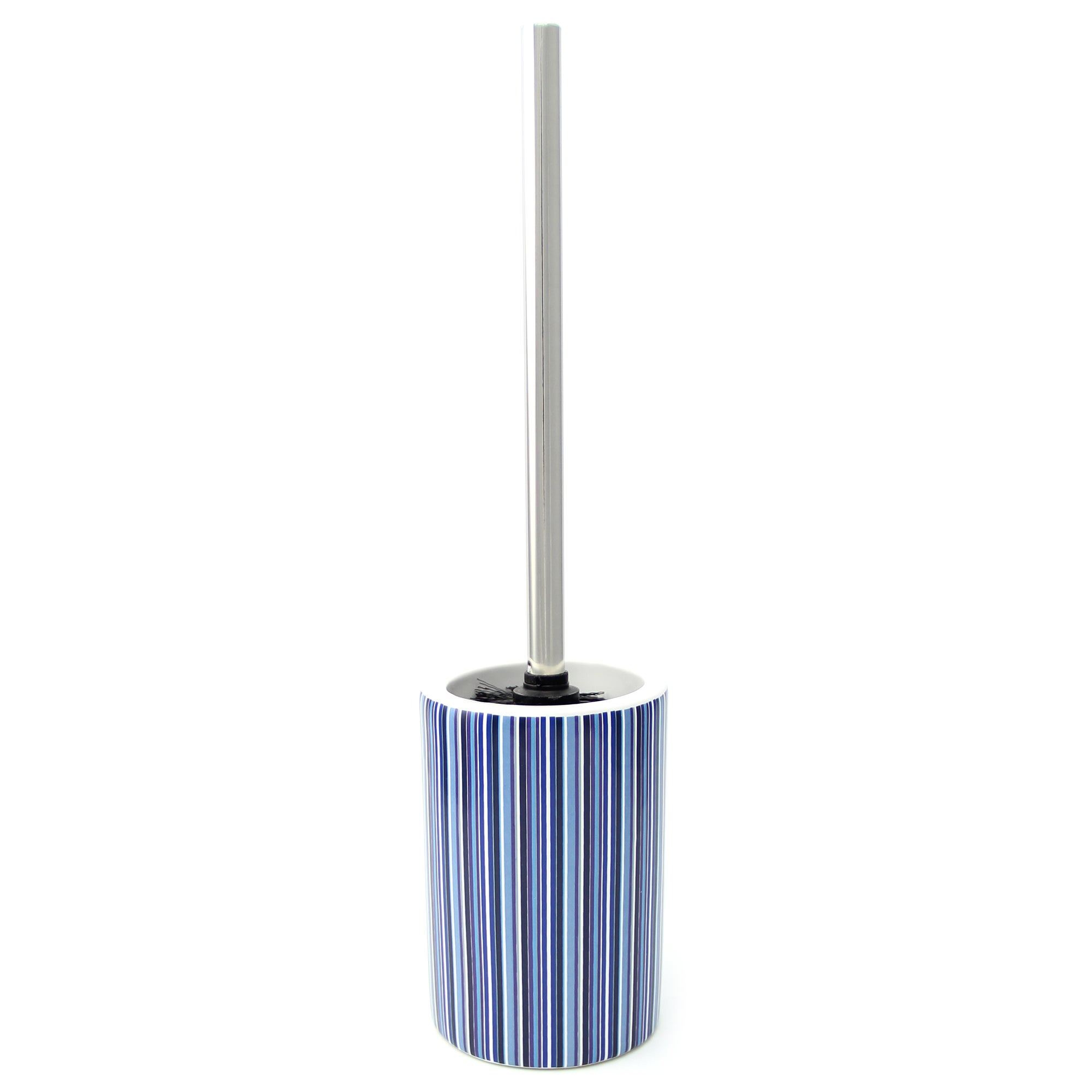 Blue Newhaven Collection Toilet Brush Holder