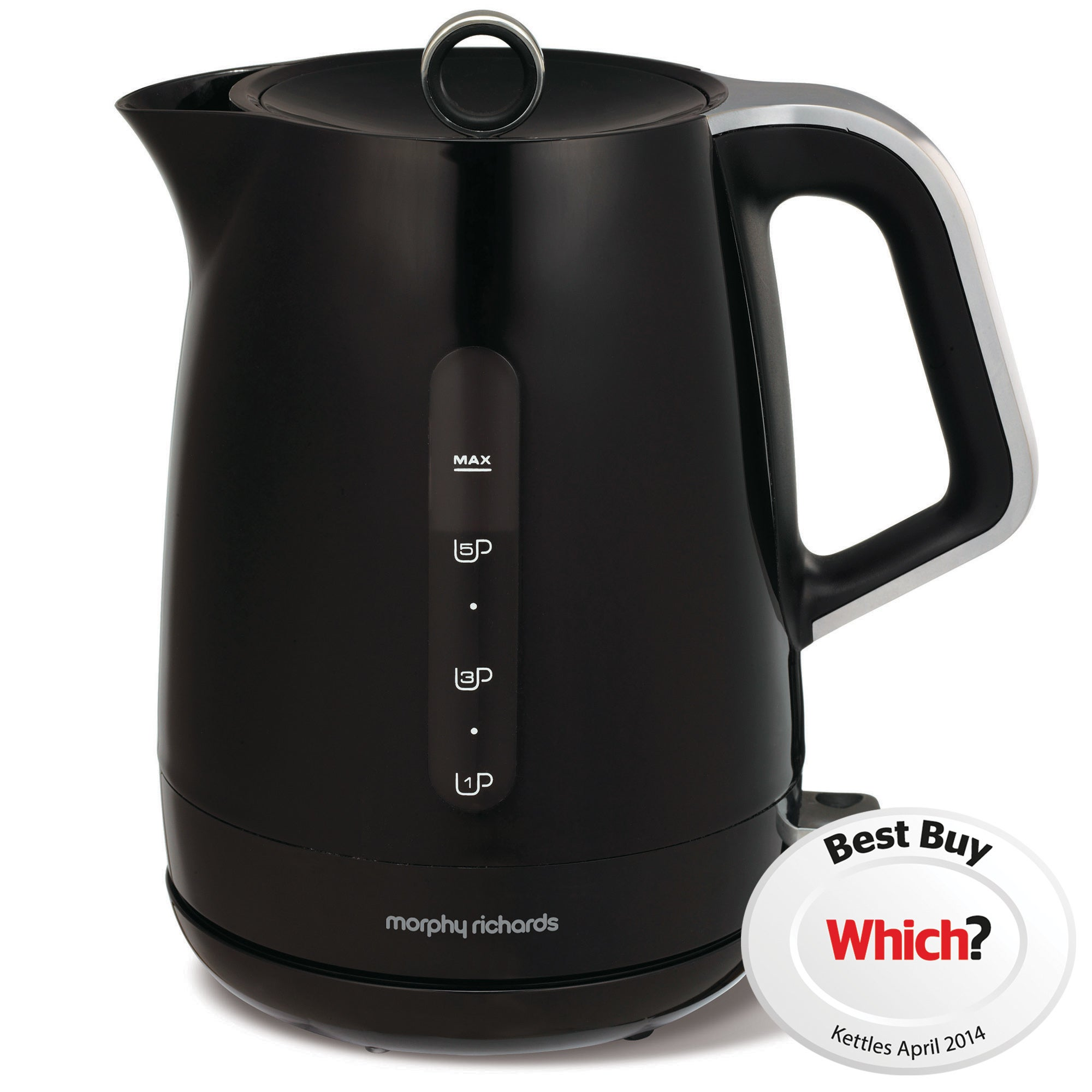 Morphy Richards Chroma 101206 Black Jug Kettle