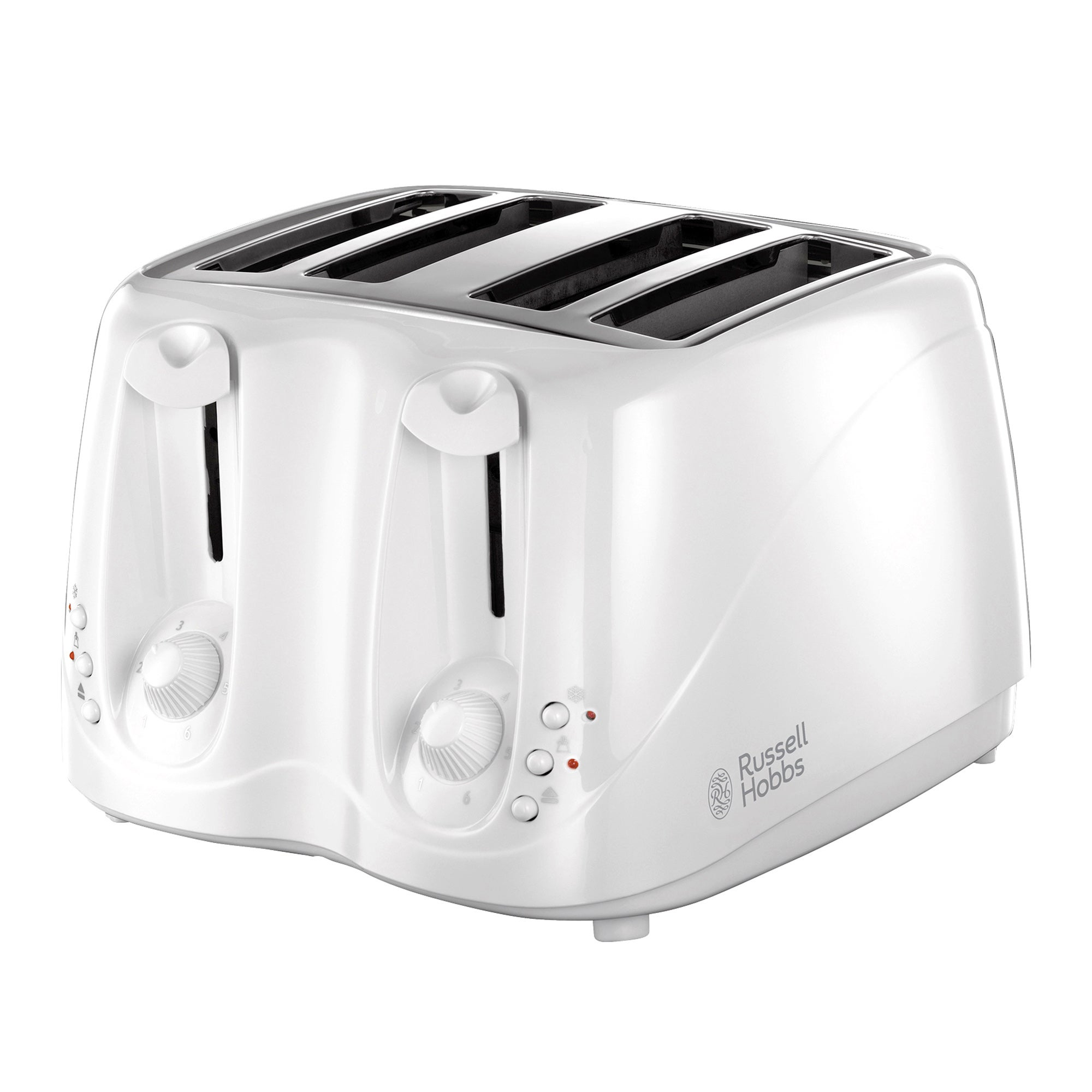 Russell Hobbs Buxton White 4 Slice Toaster