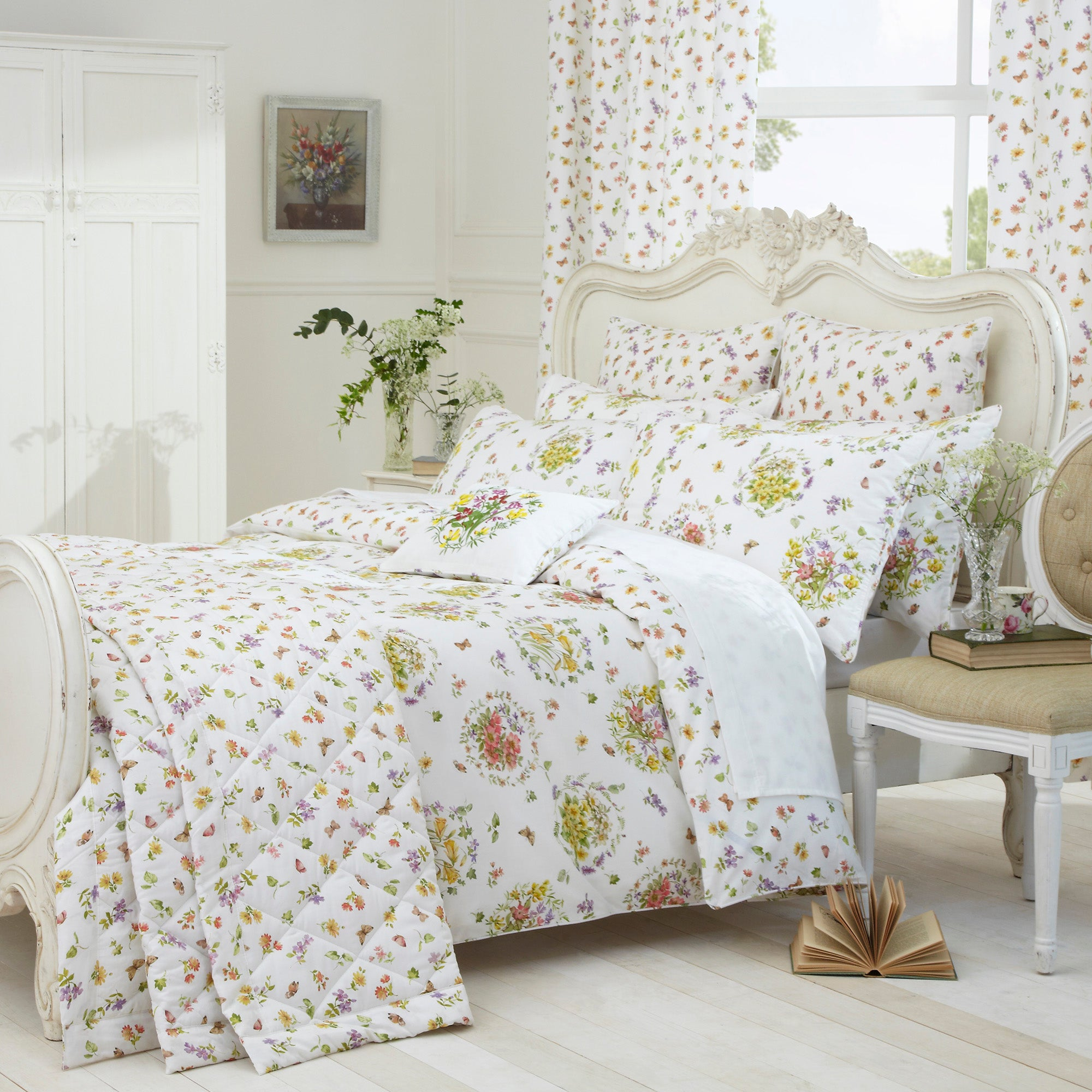 Dorma Country Garden Arlington Collection Duvet Cover Set