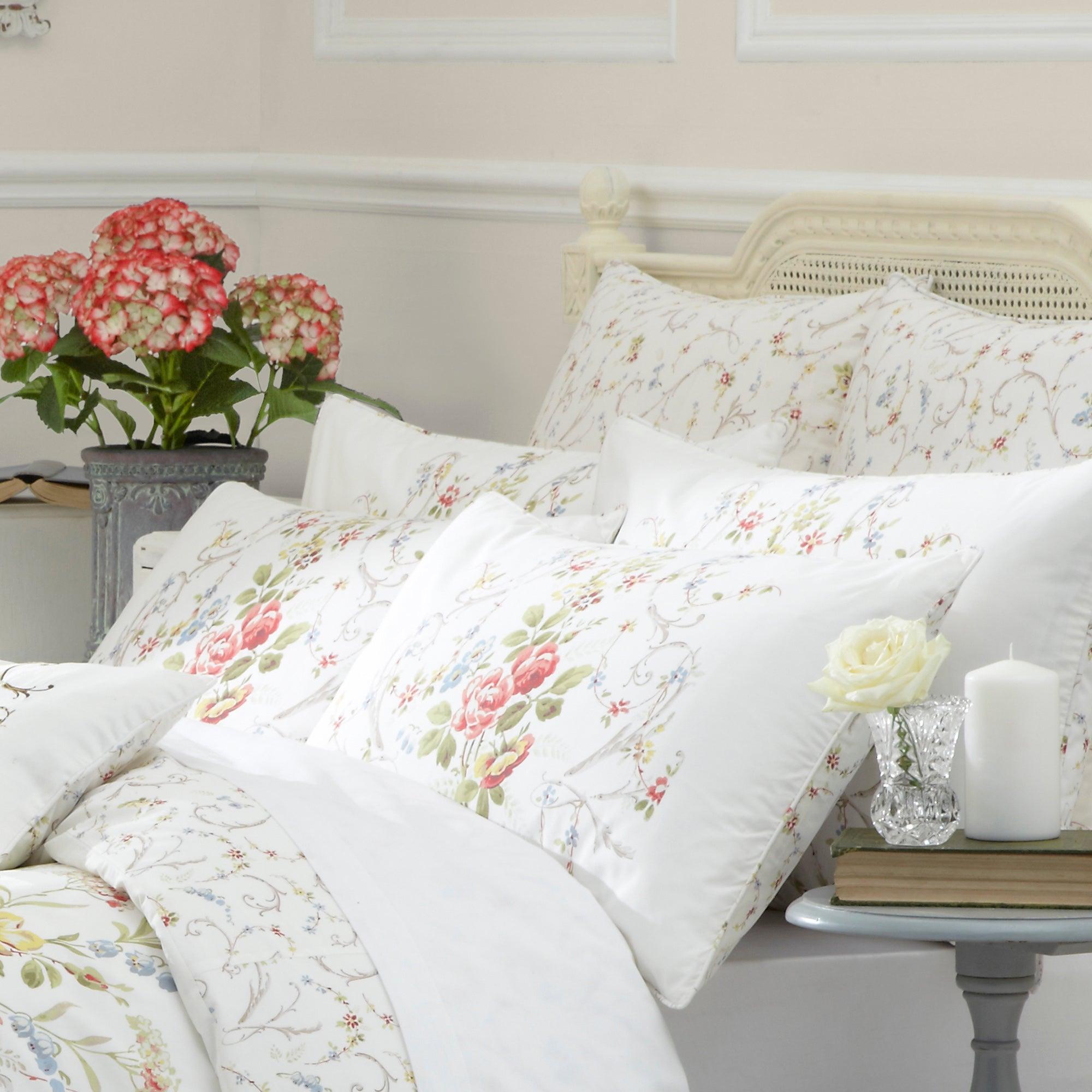 Dorma Country Garden Basildon Collection Continental Pillowcase