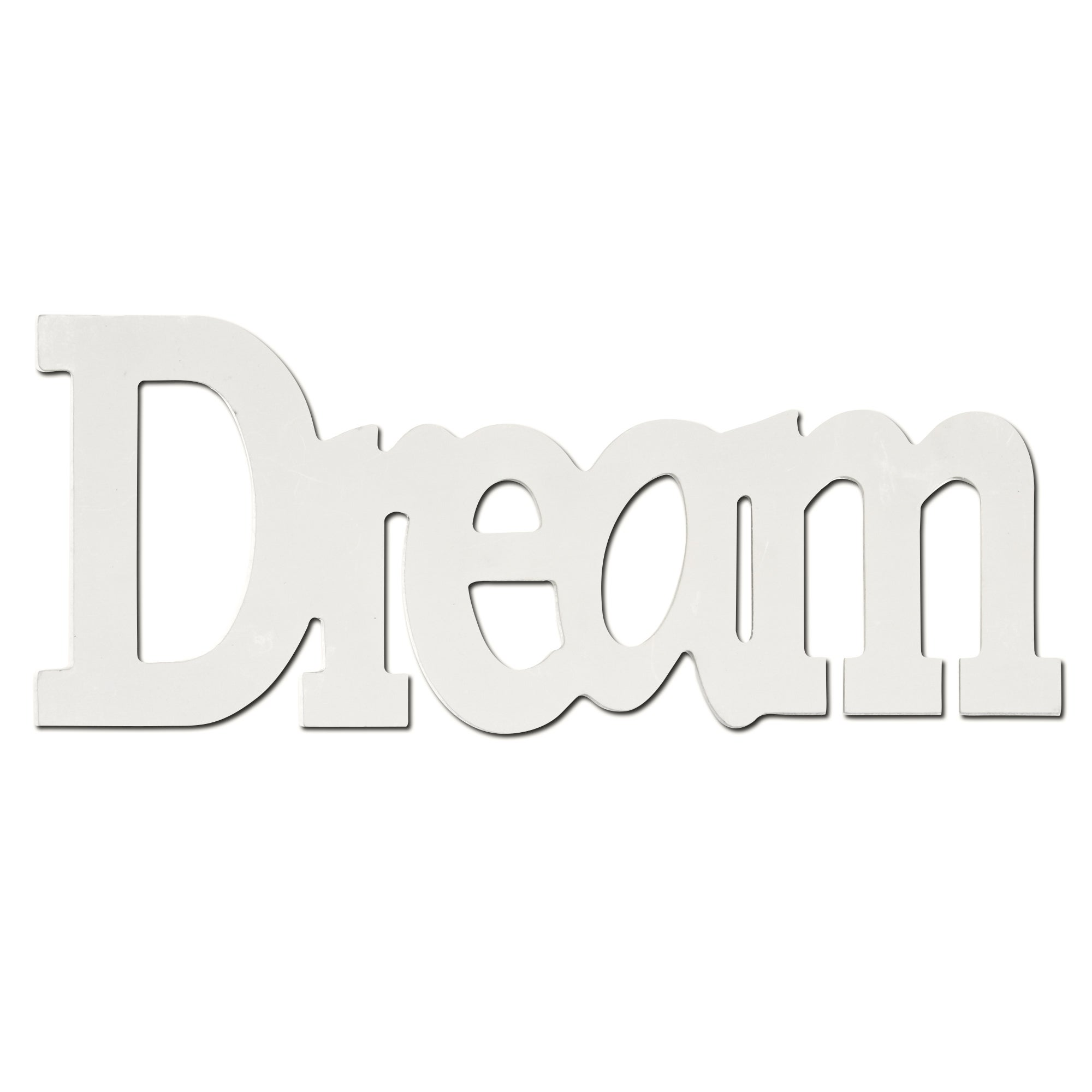 Cream Vintage Green Floral Collection Dream Wooden Word