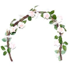 Vintage Green Floral Collection Garland