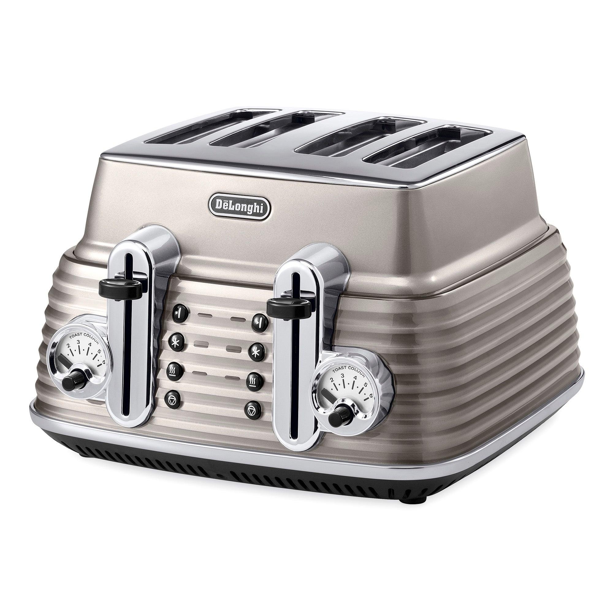 DeLonghi Scultura CTZ4003BG Champagne Toaster