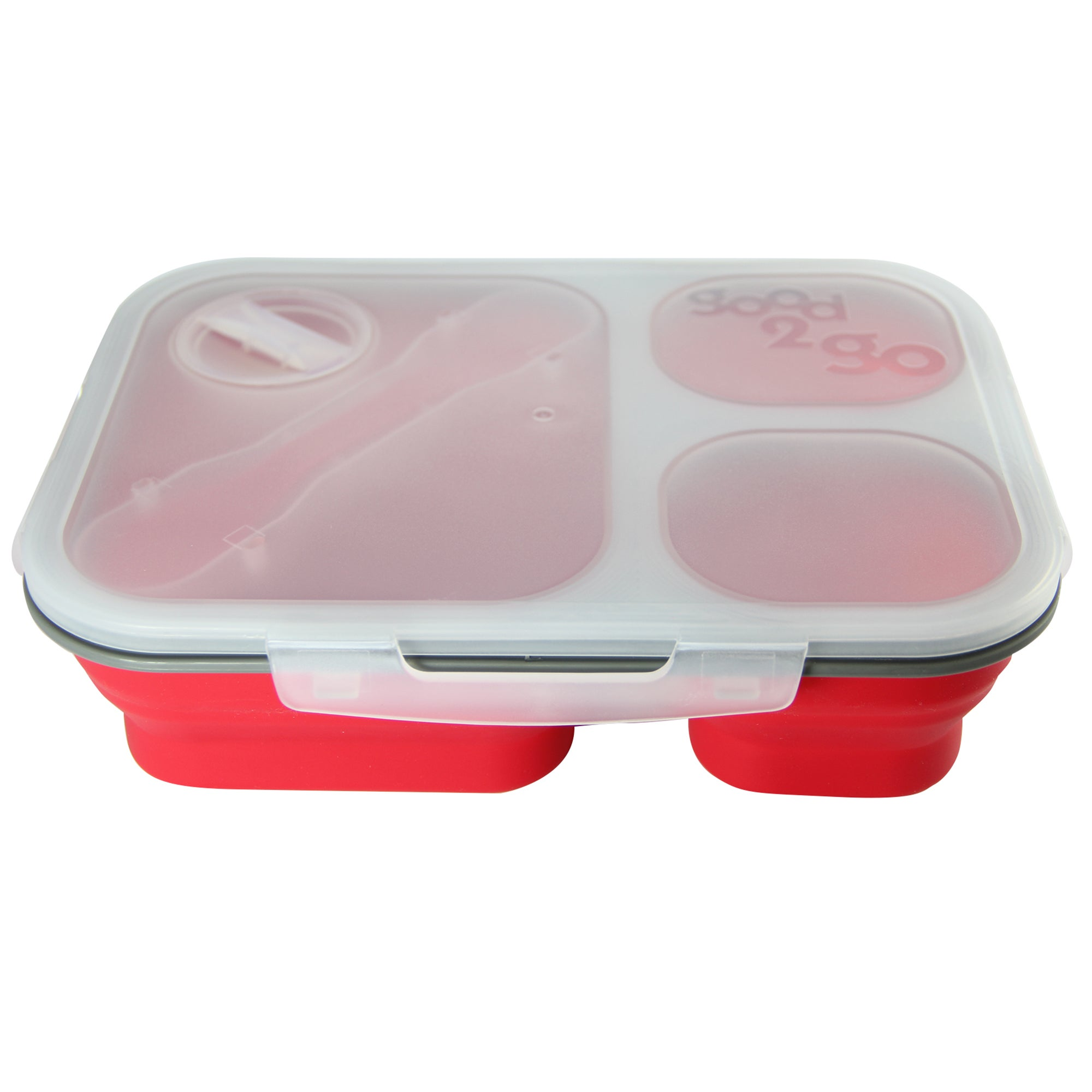Good2Go 3 Compartment Rectangular Container