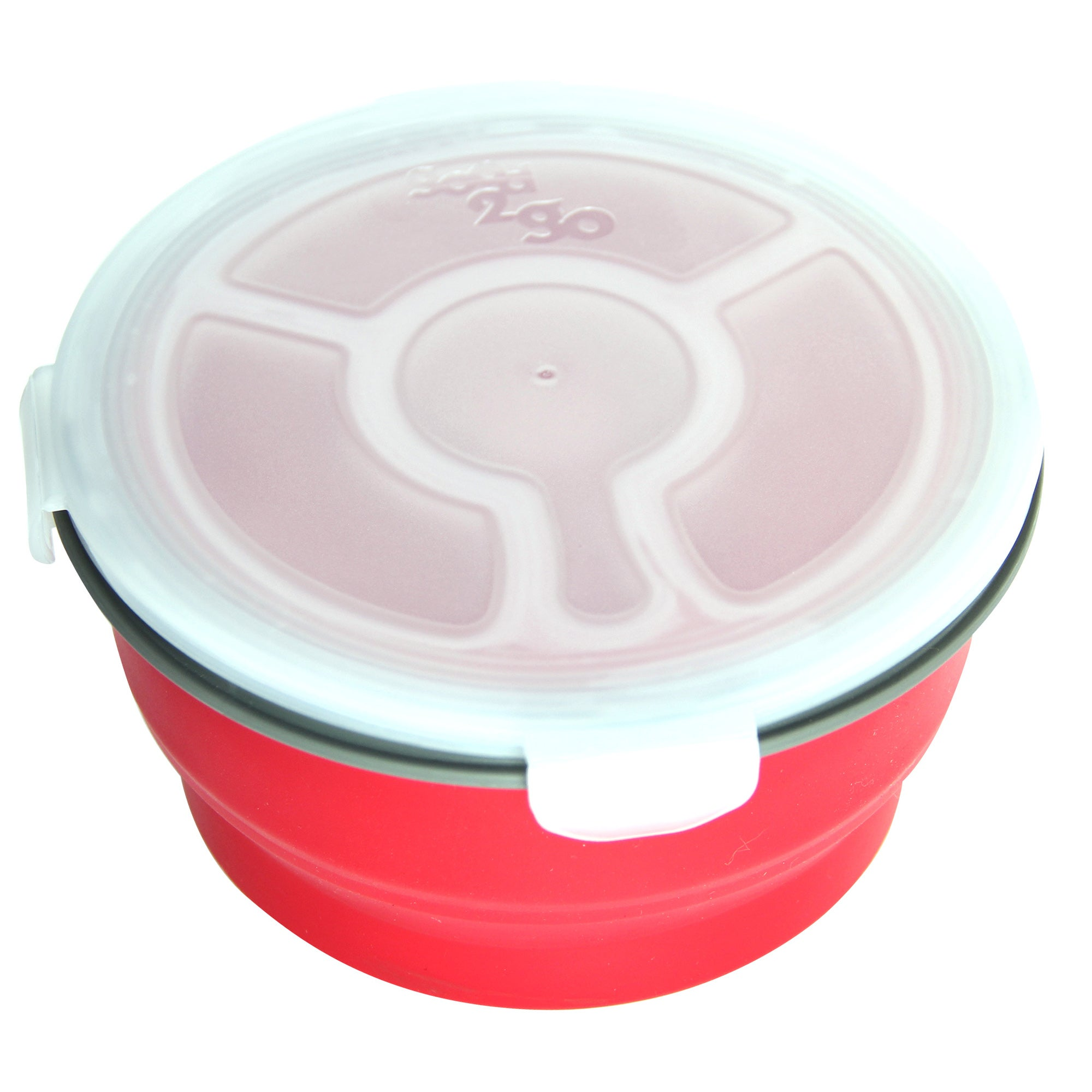 Good2Go 3 Compartment Circular Container