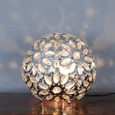 Chrome Daisy Table Lamp
