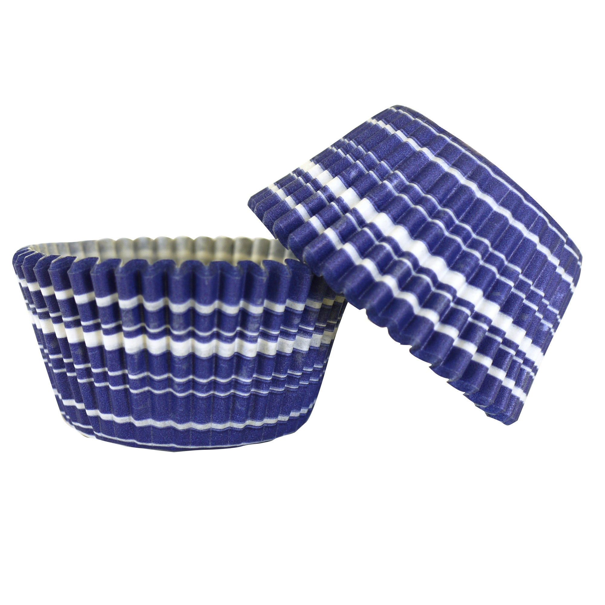 Pack of 48 Hamptons Stripe Cake Cases