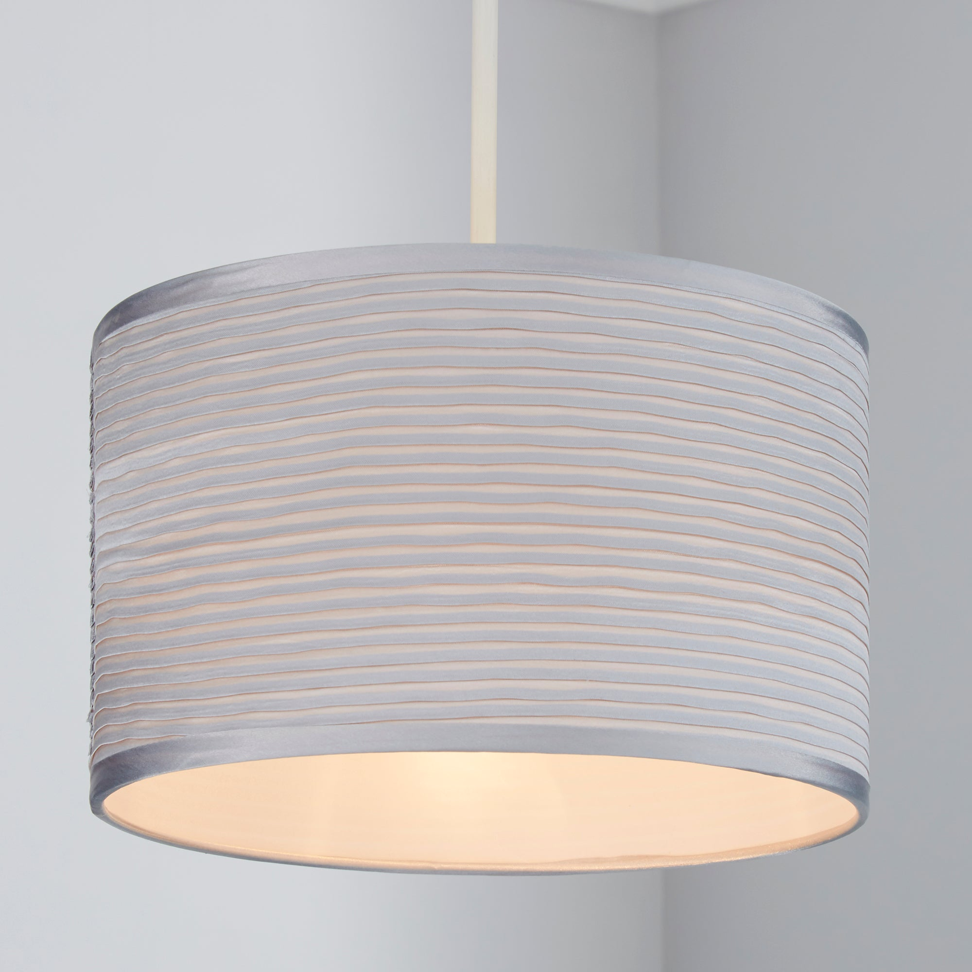Satin Ripple Pendant Shade