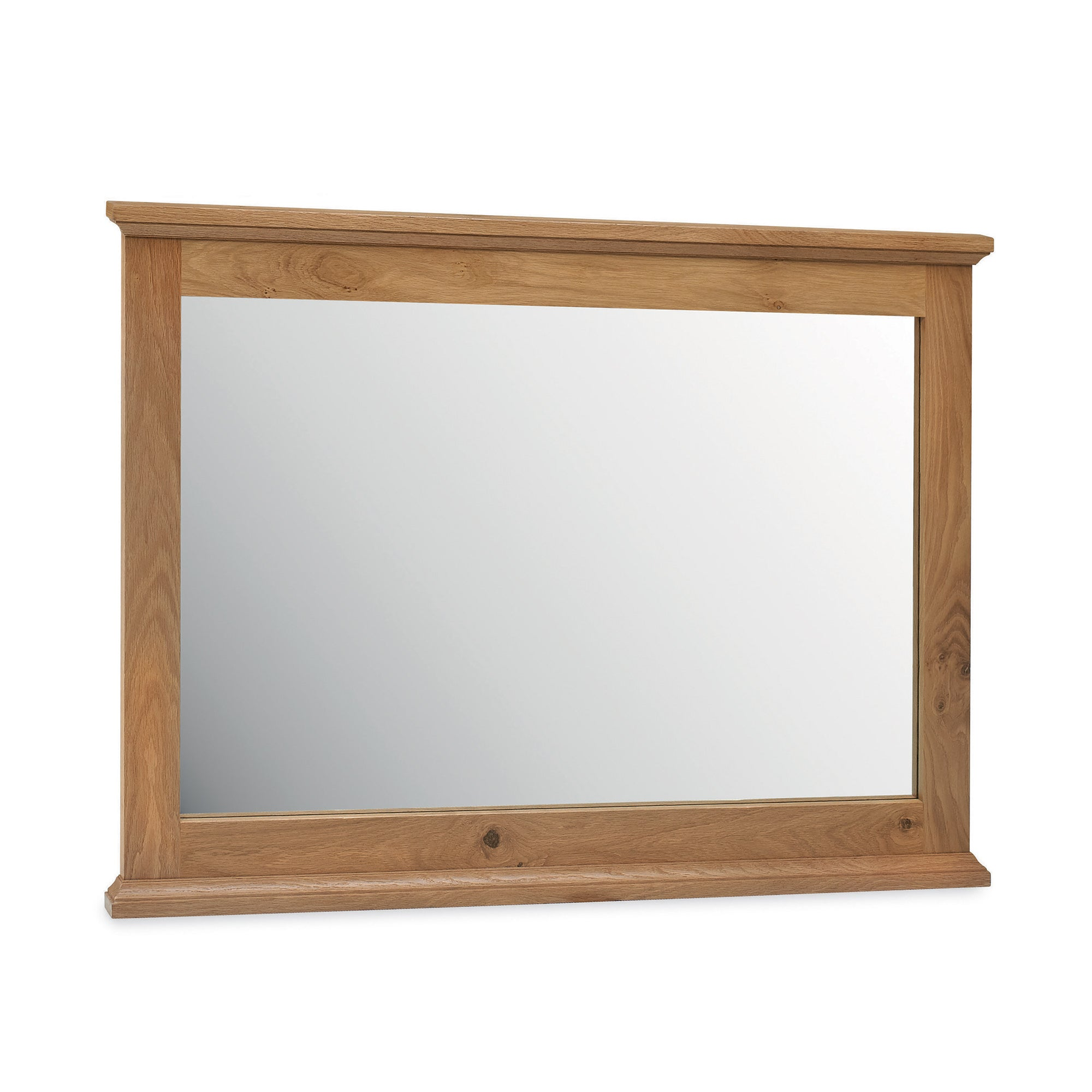 Penzance Oak Wide Wall Mirror
