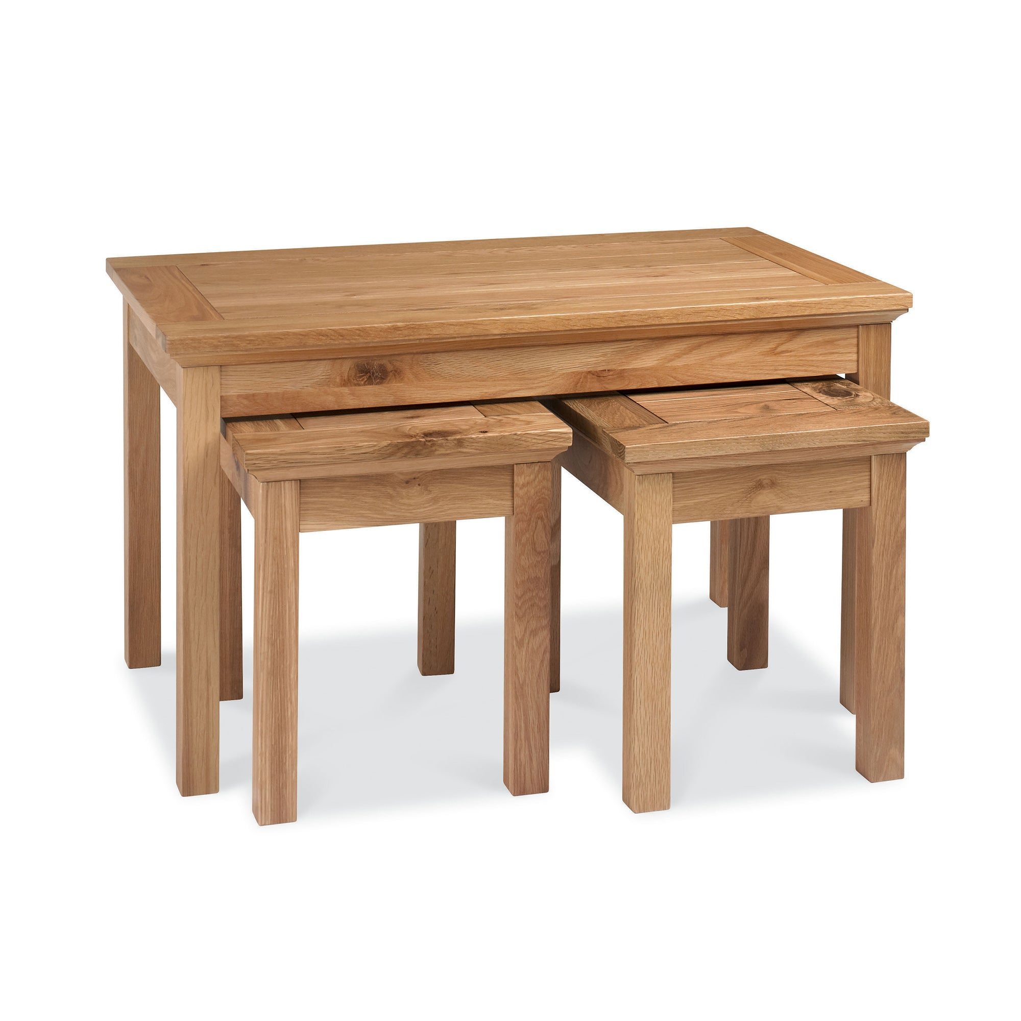 Penzance Oak Nest of Coffee Tables