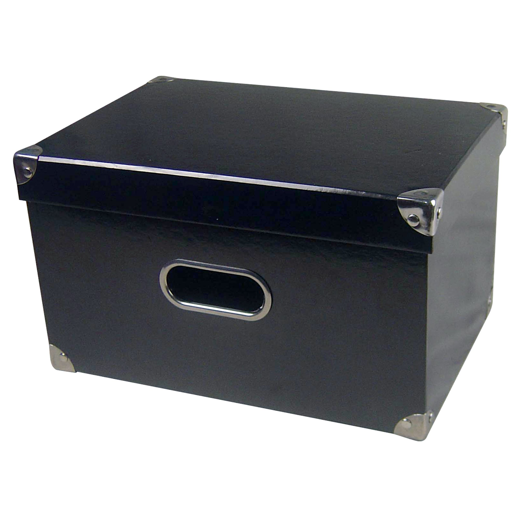 Black Jazz Rectangular Storage Box